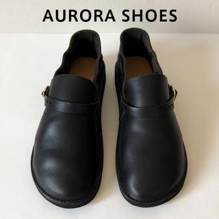 AURORA SHOES ミドルイングリッシュ オーロラシューズ 7D 24 黒