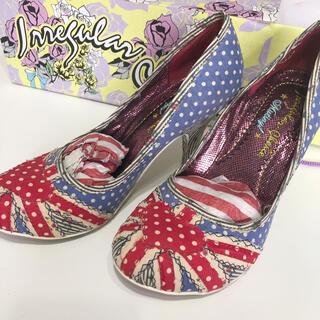 Vivienne Westwood - イレギュラーチョイス ユニオンジャックパンプス ロンドン購入