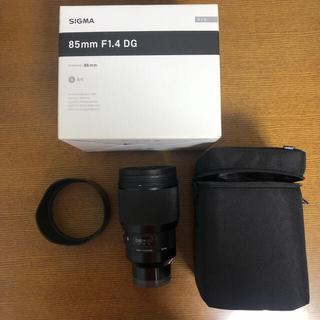 SIGMA - 【美品】SIGMA 85mm F1.4 DG HSM Art ソニーE