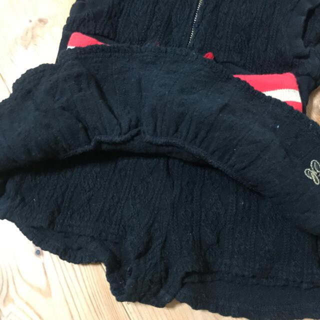 EARTHMAGIC(アースマジック)のEARTHMAGIC 上下セット 110 100 キッズ/ベビー/マタニティのキッズ服女の子用(90cm~)(ジャケット/上着)の商品写真