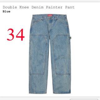 Supreme - supreme double knee denim painter pant
