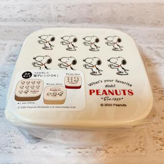 ピーナッツ(PEANUTS)の【PEANUTS】スヌーピー 入れ子 ランチボックス 3Pセット ドーナツ(容器)