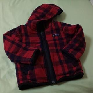 エフオーキッズ(F.O.KIDS)のF.O.KIDS リバーシブルジャケット 赤×黒 110(ジャケット/上着)