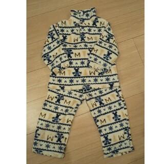 Disney - フリースパジャマ  100cm