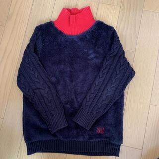 ユニクロ(UNIQLO)のユニクロ あったかセーター140&チノパン(ニット)
