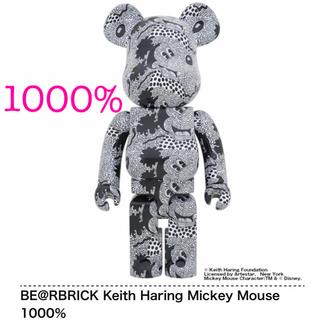 MEDICOM TOY - BE@RBRICK Keith Haring Mickey Mouse1000%