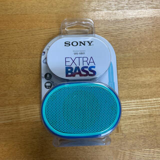 SONY - SONY  ワイヤレスポータブルスピーカー SRS-XB01 防水