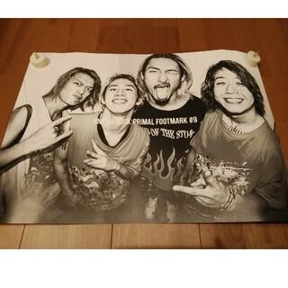 ワンオクロック(ONE OK ROCK)のONE OK ROCK PRIMAL FOOTMARK #9 特典ポスター(ミュージシャン)