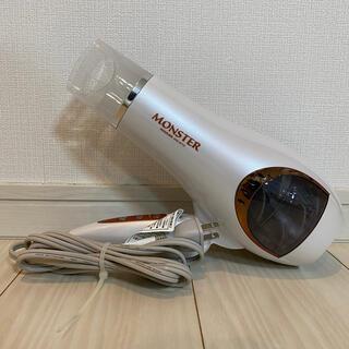 コイズミ(KOIZUMI)のコイズミ MONSTER ダブルファンドライヤー ホワイト KHD-W710(ドライヤー)