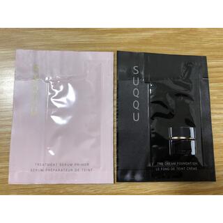 スック(SUQQU)のSUQQU ファンデーション(サンプル/トライアルキット)