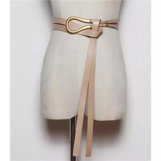 【新品】ゴールドバックル ベルト 韓国ファッション