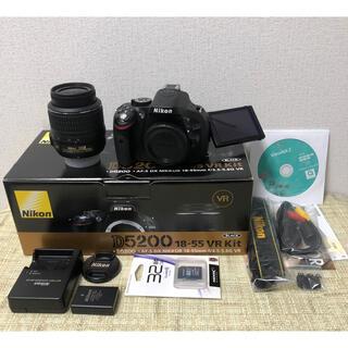 Nikon - NiKON ニコンD5200レンズキット ショット数僅か2200回