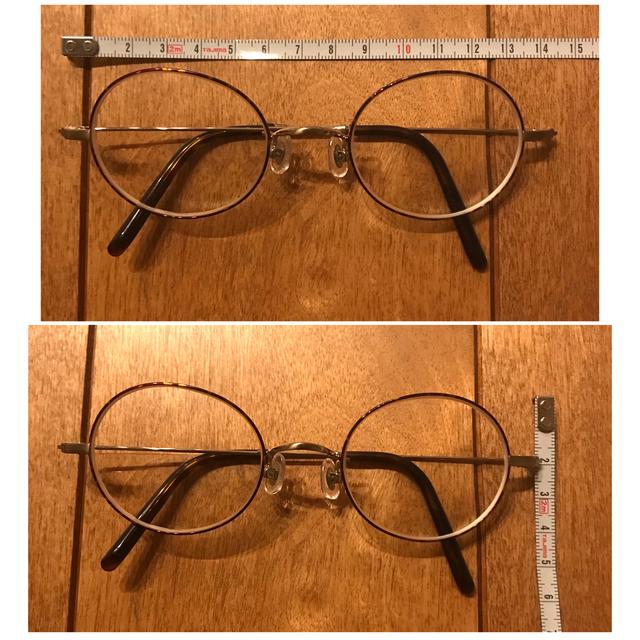 Zoff(ゾフ)の最終お値下げ Zoff レトロな丸メガネ ヴィンテージ レディースのファッション小物(サングラス/メガネ)の商品写真