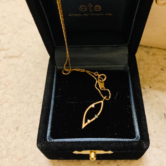 ete(エテ)の美品◆ete◆ネックレス◆18k レディースのアクセサリー(ネックレス)の商品写真