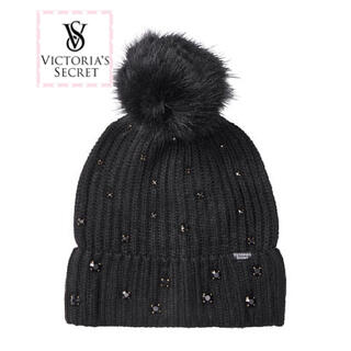 Victoria's Secret - 新作 ヴィクトリアシークレット ニット帽 ビーニー 【新品】