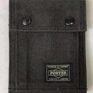 ポーター(PORTER)のPORTER ポーター 財布 SMOKEY 二つ折りウォレット(折り財布)