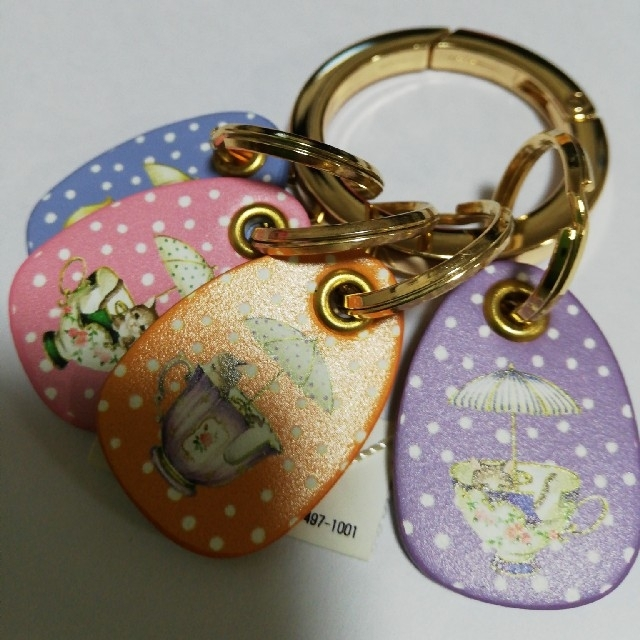franche lippee(フランシュリッペ)のねこ キーリング フランシュリッペ レディースのファッション小物(キーケース)の商品写真