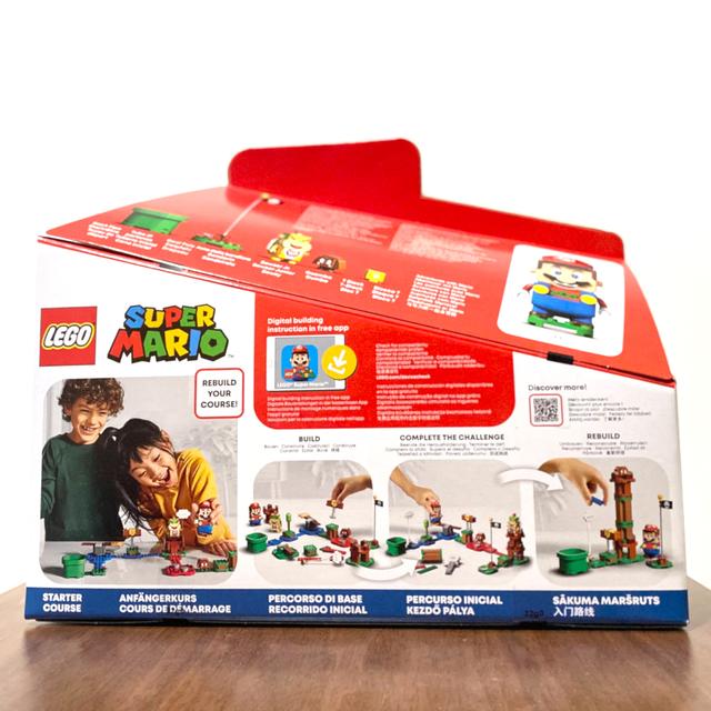 Lego(レゴ)の【要コメント】レゴ スーパーマリオ けっせんクッパ城 マリオスターターセット キッズ/ベビー/マタニティのおもちゃ(知育玩具)の商品写真