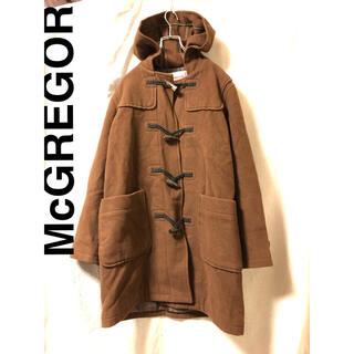 マグレガー(MacGregor)のMcGREGOR  ウールダッフルコート ブラウン ヴィンテージ(ダッフルコート)