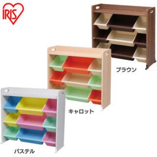 アイリスオーヤマ(アイリスオーヤマ)のおもちゃ 収納 おもちゃ箱 キッズ収納 こども 子ども部屋 トイハウスラック(ケース/ボックス)