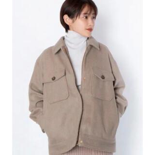 ヴィス(ViS)の【高橋愛×ViS】ドロップショルダーCPOジャケット(ブルゾン)