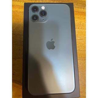 iPhone - iPhone11pro ミッドナイトグリーン  256GB SIMフリー