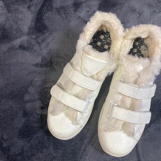 パトリック(PATRICK)のPatrick Velcro eco fur sneaker(スニーカー)