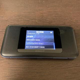 NEC - モバイルルーター○ Speed Wi-Fi NEXT W06 au