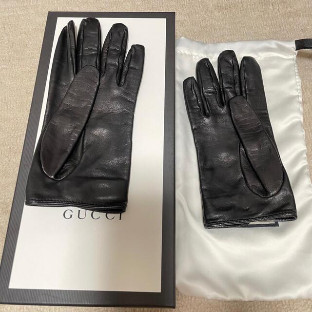 Gucci(グッチ)のGucci 新品 手袋 レディースのファッション小物(手袋)の商品写真