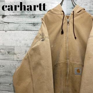 carhartt - 【人気】カーハート☆ロゴタグ ビッグサイズ ダックパーカー ジャケット
