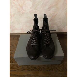 ドレステリア(DRESSTERIOR)の新品未使用 ダブルエイチ WH ブーツ スエード 干場義雅 US6,5(ブーツ)