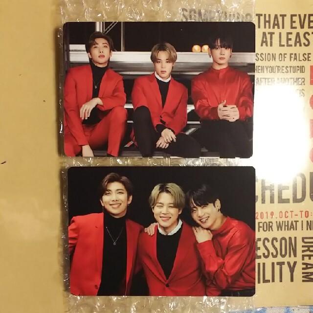 防弾少年団(BTS)(ボウダンショウネンダン)のBTS ONE ON:E ミニフォト ユニット ②⑤ エンタメ/ホビーのタレントグッズ(アイドルグッズ)の商品写真