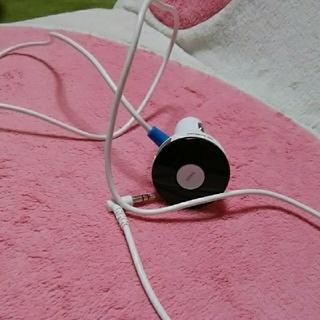 エレコム(ELECOM)のELECOM FMトランスミッター Ф3.5mm+USB 12V/24V車対応(カーオーディオ)