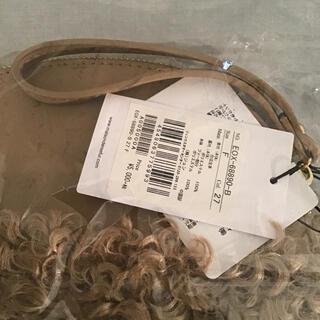 メゾンドリーファー(Maison de Reefur)の【新品未使用】メゾンドリーファー  ファー付き ポーチ型バッグ(ハンドバッグ)