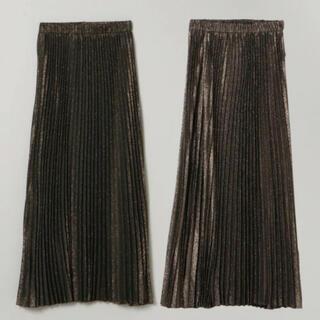 JEANASIS - 新品✳︎ ジーナシス リバーシブル シャンブレー プリーツ スカート ロング