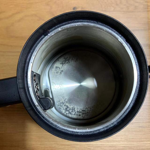 BALMUDA(バルミューダ)のジャンク BALMUDA バルミューダ 電気ケトル ブラック スマホ/家電/カメラの生活家電(電気ケトル)の商品写真