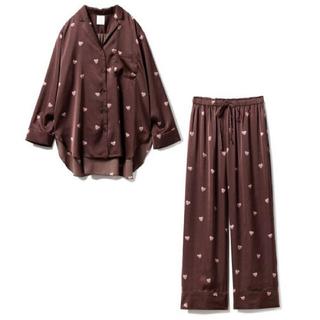 gelato pique - gelato pique ルームウェア パジャマ 長袖 上下セット