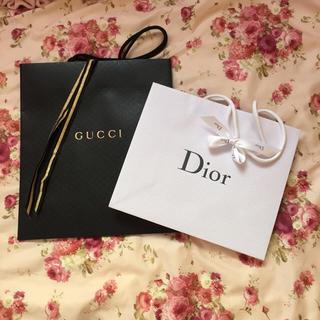 グッチ(Gucci)のGUCCI限定&Diorショッパー(その他)