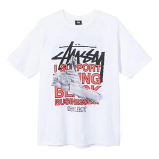 STUSSY - XL VIRGIL ABLOH WORLD TOUR TEE
