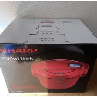 SHARP - ヘルシオホットクックKN-HW16E-R[レッド系]