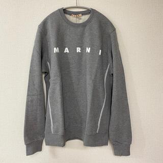 マルニ(Marni)の新作 MARNI キッズ14 スウェットトレーナー グレー(トレーナー/スウェット)