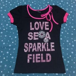 セシルマクビー(CECIL McBEE)のUSED CECIL McBEE セシルマクビー キッズ Tシャツ  130?(Tシャツ/カットソー)