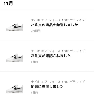 NIKE - nike air force 1 パラノイズ 23.5