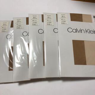 カルバンクライン(Calvin Klein)のCalvin Klein ストッキング 5足(タイツ/ストッキング)