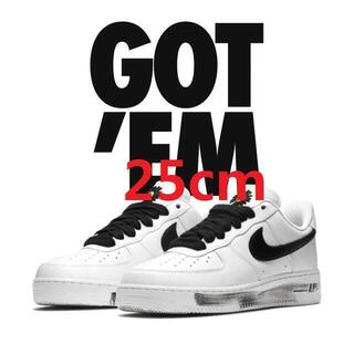 ピースマイナスワン(PEACEMINUSONE)のnike air force 1 paranoise g-dragon(スニーカー)