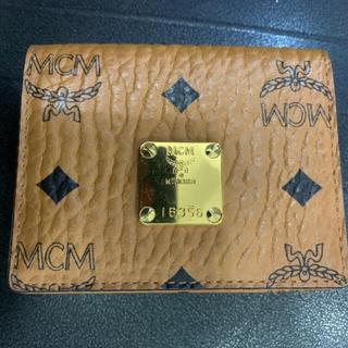 エムシーエム(MCM)の値下げ!未使用/MCM/カードケース 名刺入れ (名刺入れ/定期入れ)