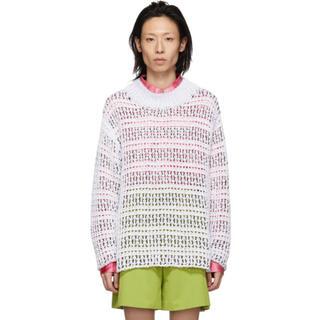 Namacheko White Zirek Sweater