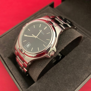 Gucci - GUCCI☆メンズ腕時計☆9040M