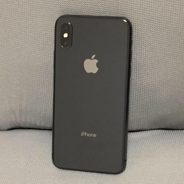 Apple(アップル)のiPhone X  256GB SIMフリー スマホ/家電/カメラのスマートフォン/携帯電話(スマートフォン本体)の商品写真