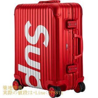 CHANEL - Supreme RIMOWA 45L シュプリーム リモワ スーツケース